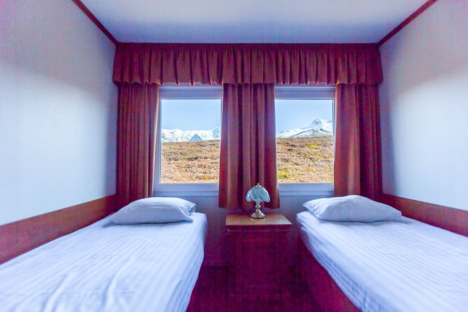 Hotel Skaftafell room with a view